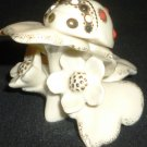 CHARMING LENOX PORCELAIN FIGURINE SECRET GARDEN COLLECTION LADYBUG MINIATURE