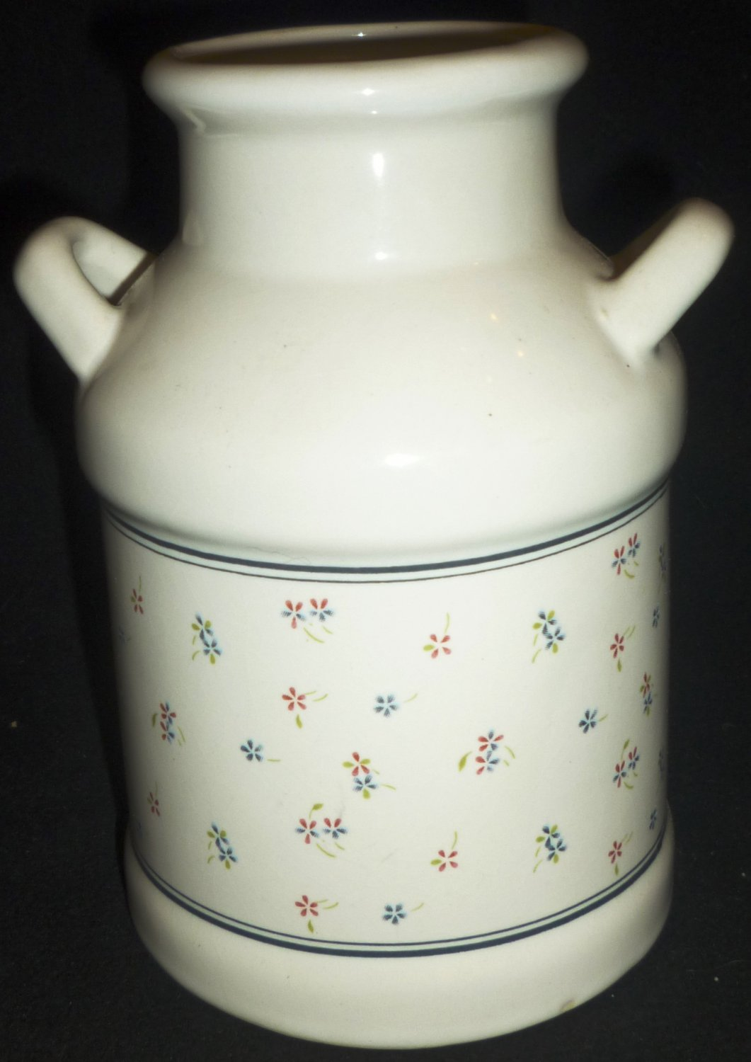 ceramic kitchen utensil holder milk canister tea coffee amp sugar canisters housewife in pearls