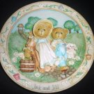 CHERISHED TEDDIES NURSERY RHYMES JACK & JILL DECORATIVE 3D PLATE OUR FRIENDSHIP