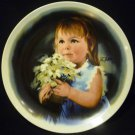 VILETTA FINE CHINA 1981 HAND MADE 'FOR YOU' ZOLAN'S CHILDREN PLATE COLLECTION US