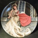 BAVARIAN CHINA COLLECTOR PLATE BROTHER'S GRIMM FOLKTAES 'RAPUNZEL' NMB