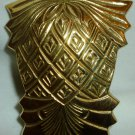 VINTAGE SOLID BRASS PINEAPPLE NAPKIN RING SET OF 4