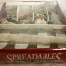 CARDINAL AT HOME COLLECTION HOLIDAY CELLEBRATION STAINLESS GOURMET SPREADERS NMB