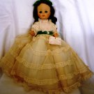 "BEAUTIFUL MADAME ALEXANDER GONE WITH THE WIND SCARLETT 14"" DOLL"