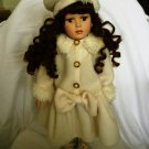 COLLECTOR' CHOICE PORCELAIN DOLL BY DanDee WINTER WONDERLAND