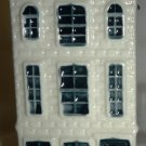 BLUE DELFT KLM BOLLS EMPTY CERAMIC FIGURAL BOTTLE HOUSE #68