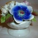 VINTAGE ROYALE STARTFORD FINE BONE CHINA FLOWERS FIGURINE STAFFORDSHIRE ENGLAND