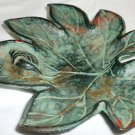 VINTAGE CAST IRON DECORATIVE CANDY DISH BY TOYO JAPAN