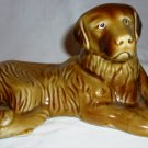 CHARMING GODEN LABRADOR RETRIEVER DOG FIGURINE BRAZIL CERAMIC