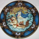 BRADFORD EXCHANGE RUSSIAN SEASONS COLLECTION WINTER MAJESTY COLLECTIBLE PLATE