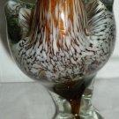 GORGEOUS MURANO GLASS MULTICOLOR BIRD ALBATROS