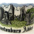 VINTAGE GLANSTONBURY ABBEY BIRCHCROFT CHINA GREAT BRITAIN OPEN SALT