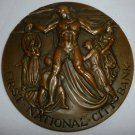 UNIQUE COMMEMORATIVE BRONZE MEDAL FIRST NATIONAL CITY BANK NEW YORK 150 YEARS