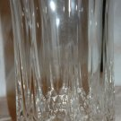 BEAUTIFUL CRYSTAL CUT GLASS TUMBLER WATER GLASS VASE