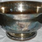 GORHAM SILVERPLATED BIG SALAD MIXING PEDESTAL BOWL YC785