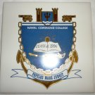 CERAMIC DECORATIVE TILE NAVAL COMMAND COLLEGE CLASS OF 1996 US NAVAL WAR COLLEGE