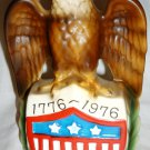 VINTAGE COMMEMORATIVE CENTENTIAL AMERICAN EAGLE FIGURAL COIN BANK PIGGY BANK