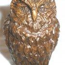 CHARMING VINTAGE MINIATURE FIGURINE OWL BIRD
