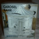 SILVERPLATED INTERNATIONAL SILVER COMPANY CAROUSEL COIN BANK PIGGY BANK NMB