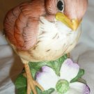 CHARMING ANDREA BY SADEK SIGNED CARDINAL BIRD CHICK FIGURINE