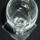 VINTAGE STEMMED HAWKES CLEAR CRYSTAL GLASS CORDIAL LIQUER SHOT SET OF 9 NO LOGO