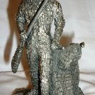 VINTAGE HUDSON PEWTER FOR HONEYWELL MINUTEMAN SOLDIER FIGURINE PAPERWEIGHT