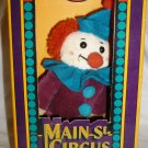 CUTE MAIN STREET CIRCUS CLOWN PLUSH DOLL
