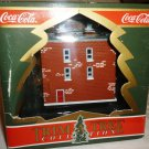 TOWN SQUARE COCA-COLA COLLECTION THE PEMBERTON HOUSE ORNAMENT FIGURINE