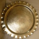 VINTAGE ADMIRATIONS PRODUCTS CO. HAND FORGED ALUMINUM ROUND TRAY