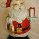 VINTAGE HANDPAINTED CERAMIC SANTA CHRISTMAS BANK PIGGY BANK