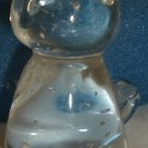 CUTE CLEAR BUBBLE GLASS LITTLE KITTENS FIGURINE PAPERWEIGHT