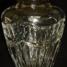 "GORGEOUS WATERFORD POMPEII CLEAR CUT CRYSTAL 6"" VASE"