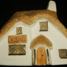VNTGE HANDPAINTED CERAMIC COLLECTIBLE PHILIP LAURESTON COTTAGES CAFE 720 ENGLAND