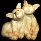 SECOND NATURE DESIGN QUARRY CRITTERS PEPPER & POSH FRIENDS PIGS FIGURINE