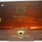 CHATEAU DE LA FUENTE FUENTE OPUSX CHERRY WOOD CIGAR HOLDER CASE SUPER BELIOOSO