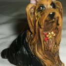CHARMING CHRISTMAS TREE ORNAMENT DOG YORKIE YORKSHIRE TERRIER