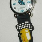 CHILDREN KID'S WATCH JAPAN DISNEY PIXAR CARS SOFT COLORFUL BRACELET WATER RESIST