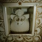 MARGARET FURLONG LITTLE CELESTIAL ANGEL PORCELAIN CHRISTMAS TREE ORNAMENT