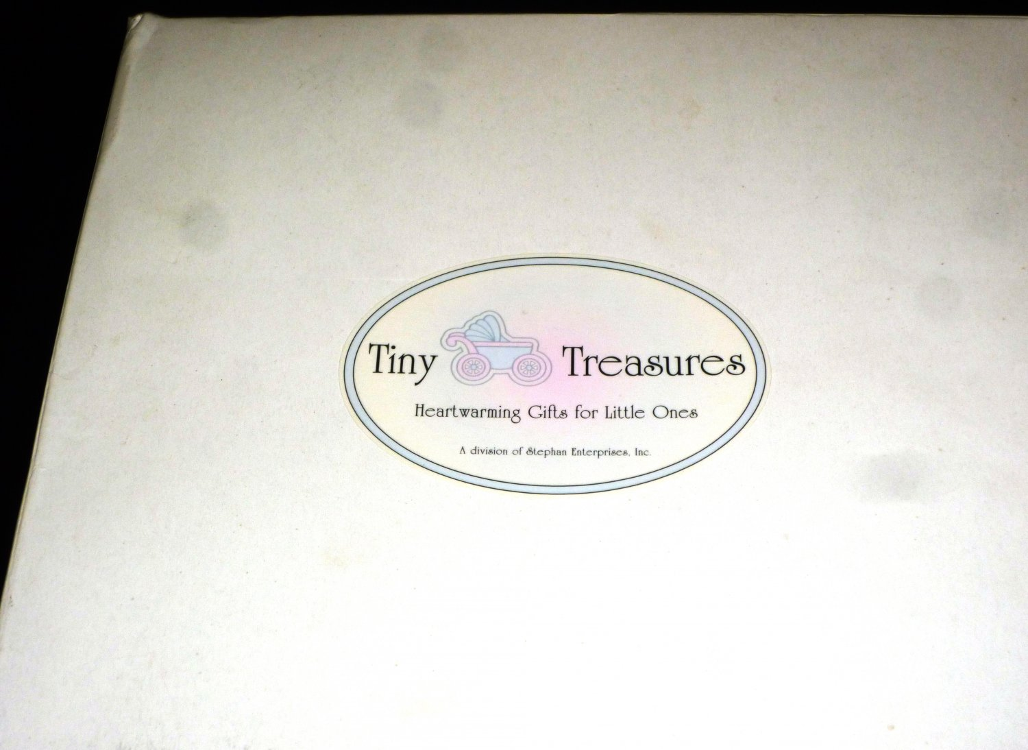 TINY TREASURES SILVERPLATED BABY GIFT SET TEDDY BEAR DECOR FORK SPOON SIPPY CUP