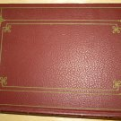 VINTAGE HARDCOVER JOURNAL NOTEBOOK PERFORATED PAGES IN RED COVER