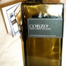 COLLECTIBLE SMOKE GLASS BOTTLE DECANTER W/SPOUT CORZO EMPTY TEQUILA BOTTLE