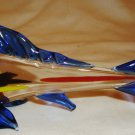 BEAUTIFUL MURANO GLASS COLORFUL FISH FIGURINE STUDIO ART GLASS