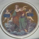 CONNOISSEUR FINE BONE CHINA ENGLAND DECORATIVE PLATE RAFFAELLO SANZIO THEOLOGY