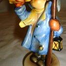HUMMEL GOEBEL FIGURINE HEAR YE HEAR YE BOY W/HORN BUMBLEBEE TMK-8 GERMANY