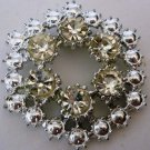 BEAUTIFUL VINTAGE JEWELED FASHION JEWELRY BROOCH SCARF PIN
