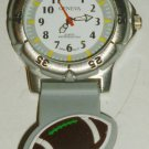 GENEVA SPORTS FOOTBALL BRACELET WRISTWATCH JAPAN MOVEMENT WATER RESISTANT WATCH