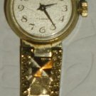 VINTAGE BEAUTIFUL GOLD PLATED USSR RUSSIA MECHANICAL WOMEN WATCH CHAIKA