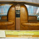 TUSCAN HOME EASY CHAIR 2 PIECE BOOKENDS NMB