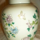 VINTAGE PORCELAIN GINGER JAR LIDED URN TAKAHASHI JAPAN CHO-CHO SAN FRANCISCO