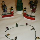 MISCELLANEOUS CHRISTMAS VILLAGE MINIATURE DECORATIONS DOLLHOUSE